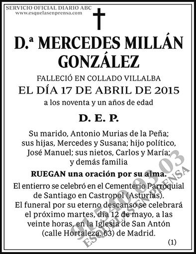 Mercedes Millán González